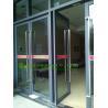 China Commercial Aluminum Window & Door with door closer, automatic closed aluminum entry door wholesale