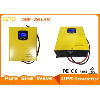 China Wall Mounted solar power inverter 1000W 12V built-in toroidal transformer and AC charger wholesale