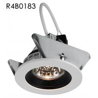 China MR16 Aluminum White Round Trim Cut out 70MM Halogen Spot Downlights Build-in Gu5.3 Ceramic lamp Base on sale