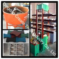 China Rubber Tile Vulcanizing Press/Rubber Tile Making Machine/Rubber Tile Machine on sale