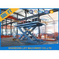 Buy cheap 2018 Hot Sales car lifts for home garages hydraulic scissor car lift with CE from wholesalers