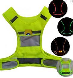China High Visibility Safety Vest Belt Traffic Reflection Vest Belt Shapes Clothing on sale