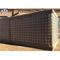Buy cheap Spiral Wire Joined Sand Filled Military Perimeter Security Hesco Barrier Wall from wholesalers