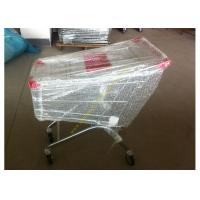 China Supermarket Shopping Cart Trolley / Metal Grocery Cart / 150 Litres Hand Trolley wholesale