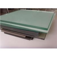 China Milk PVB Film Laminated Tempered Safety Glass , Sandwiched Glass wholesale