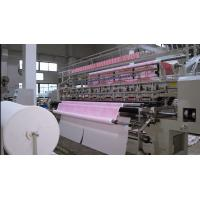 China Straight Line Automatic Quilting Machine 128 Inch Three Needle Sewing Machine wholesale