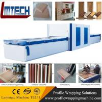 China Woodworking machinery cabinet door membrane press machine on sale