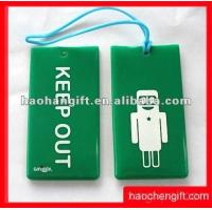 China Animal Card Luggage Bag Tag wholesale
