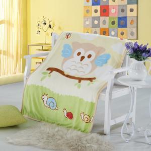 China Pretty Anti Bacterial Non - Irritating Wool Newborn Baby Muslin Blanket wholesale