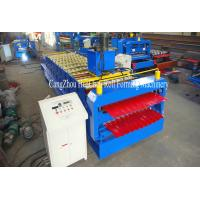 China High Output Roll Forming Lines Roll Form Machine Easy Operate 10 / 14 Rows wholesale