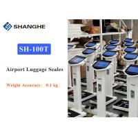 China Automatic Measurement Airport Luggage Scale 0.1 Kg Weight Accuracy Durable wholesale