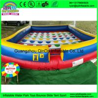 China kids sport games new square playing game mat large inflatable twister game for sale wholesale