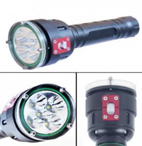 Buy cheap 5高い内腔LEDの飛び込みのトーチ100mの水中導かれた潜水の懐中電燈を導きました from wholesalers