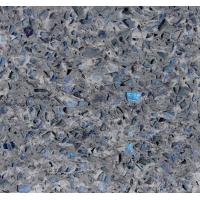 China Stone Cutting Artificial Quartz Jewelry Blue Abrasion Resistance Quartz Stone Slab wholesale