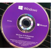 China French Windows 10 Pro Key Code Windows 10 Professionnel Version complete DVD Package wholesale