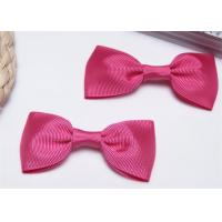 China High End Bow Tie Ribbon , Hair Elastic Bands Home Textile Purple wholesale