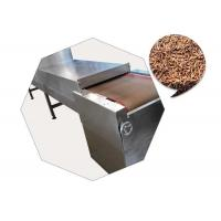 China Black Soldier Fly Larvae Microwave Drying Machine With Stainless Steel Material wholesale