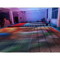 Buy cheap Flexible Soft Led Curtain Panel Wall , Foldable Stage Background LED Display Big Screen from wholesalers