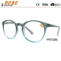 Buy cheap New arrival and hot sale of plastic reading glasses, suitable for men and women from wholesalers