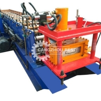 China 20m/min Metal Steel 11kw Power Door Window Frame Roll Forming Machine on sale