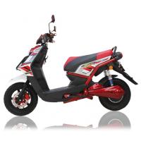 China 1500W Red Electrical Motorcycle 300Kgs Loading Electric Sports Motorcycle wholesale