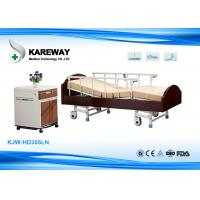 China Charity Hospital Wooden Hospital Patient Bed , Old Man Hospital Bed Easy Removable wholesale
