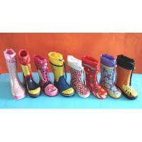 China Kids Rubber Rain Boots (Childrens Wellies) on sale