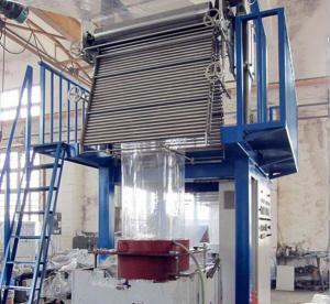 Buy cheap Large PVC Blown Film Extrusion Machine Monolayer Blown Film Plant 30 - 45kg/H from wholesalers