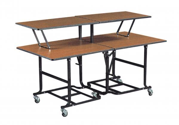 Hotel Supplies Banquet Equipment Rectangular Folding Buffet Table