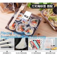 China susi box / sushi packaging / Food window box,PP Microwave Blister Clear Plastic Lunch Box Food Container with Lid 650ml wholesale