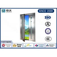 China Fire Resistant 1.5h Fire Rated Hollow Metal Doors For Mechanical And Electrical Room wholesale