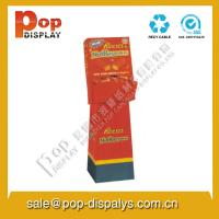 Vertical Advertising Cardboard Display Stands For Exhibition