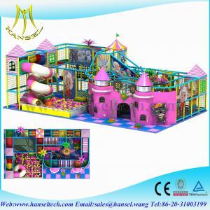 China Hansel Playground Tiles Kindergarten Playground Indoor Play Equipment on sale