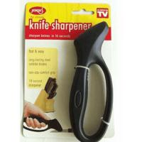 China FDA Disposable Kitchen Knife Sharpener Black With Handle 16 * 5.5cm on sale