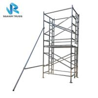 China H Frame Platform Aluminium Mobile Scaffold Stable Performance Easy To Carry on sale