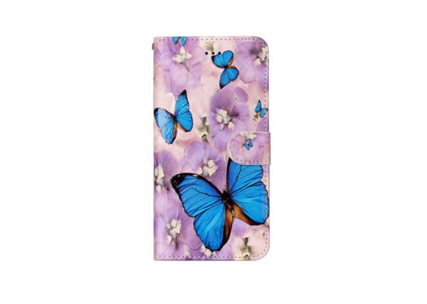 Quality Purple Flowers IPhone Custom Made Phone Cases Anti Shock Eco - Friendly for sale