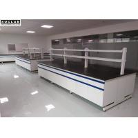 China White Chemistry Lab Furniture Phenol Formaldehyde Resin Bench With PP Cabinet on sale