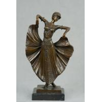 China Fine Art Bronze Dancer Statue Craft antiques gallery wholesale