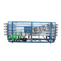 China RO Water 100 T/H Seawater Desalination Big Equipment For Reverse Osmosis Filters Commercial Alkaline filtration plant wholesale