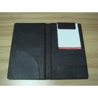 China Checkbook, log book and Menu PU Hotel Information Folder for Hotel, motel or restaurant wholesale