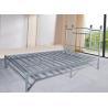 China Heavy Duty Silver Metal Single Bed Frame Metal Bedroom Furniture Powder Coating wholesale