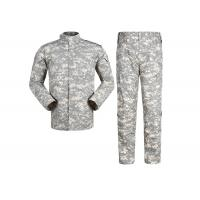 China Multi Camo Acu Military Combat Uniform Rub Resistant With 5.5 Hidden Pocket wholesale