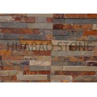 China Garden House Manufactured Stone Panels , Cultured Stone Sheets Natural Finish on sale