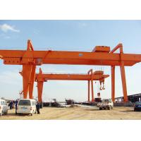 China Heavy Duty Electric Double Beam Gantry Crane For Loading And Unloading wholesale