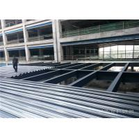 China 2 Floor Steel Frame Platform Prefabricated Steel Structures Buildings For Shopping Mall wholesale