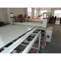 China PS / ABS Stationary Plastic Sheet Extrusion Machine , Toy / Lunch Box Sheet Machinery wholesale