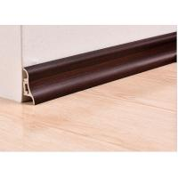 China Luxury Wooden White Plastic PVC Skirting And Cover For Veranda wholesale