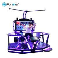 China VR Walking Virtual Reality Equipment Stand Platform 0.9KW With Boxing Games wholesale