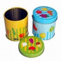 China Promotion Gift Tins, Customized Colors, Logos and Sizes are Accepted wholesale