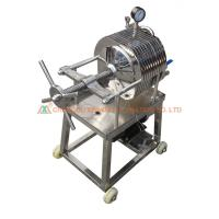 China Juice Tea Leaf Filter Press Machine , Automated Filter Press Stable Working wholesale
